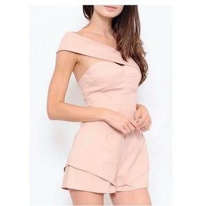 Other - Romper with removable sash.